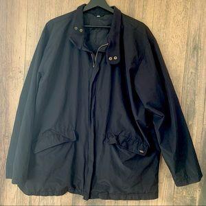 Men's XL black windbreaker jacket Pierre Cardin